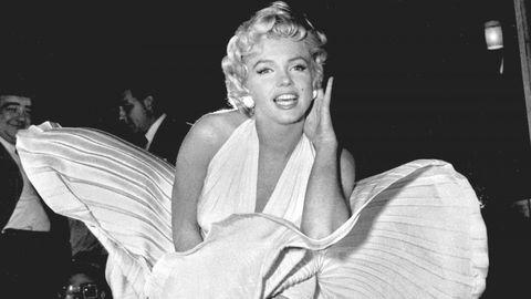 Marilyn Monroe y sus vestidos