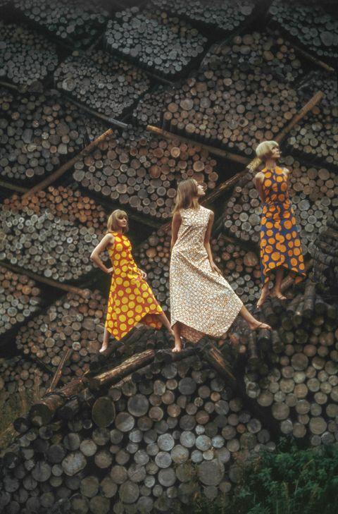 Vintage 1960s Marimekko Ads by Tony Vaccaro