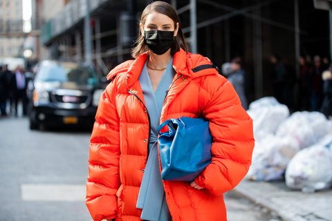 Street Style - Day 7 - New York Fashion Week February 2020