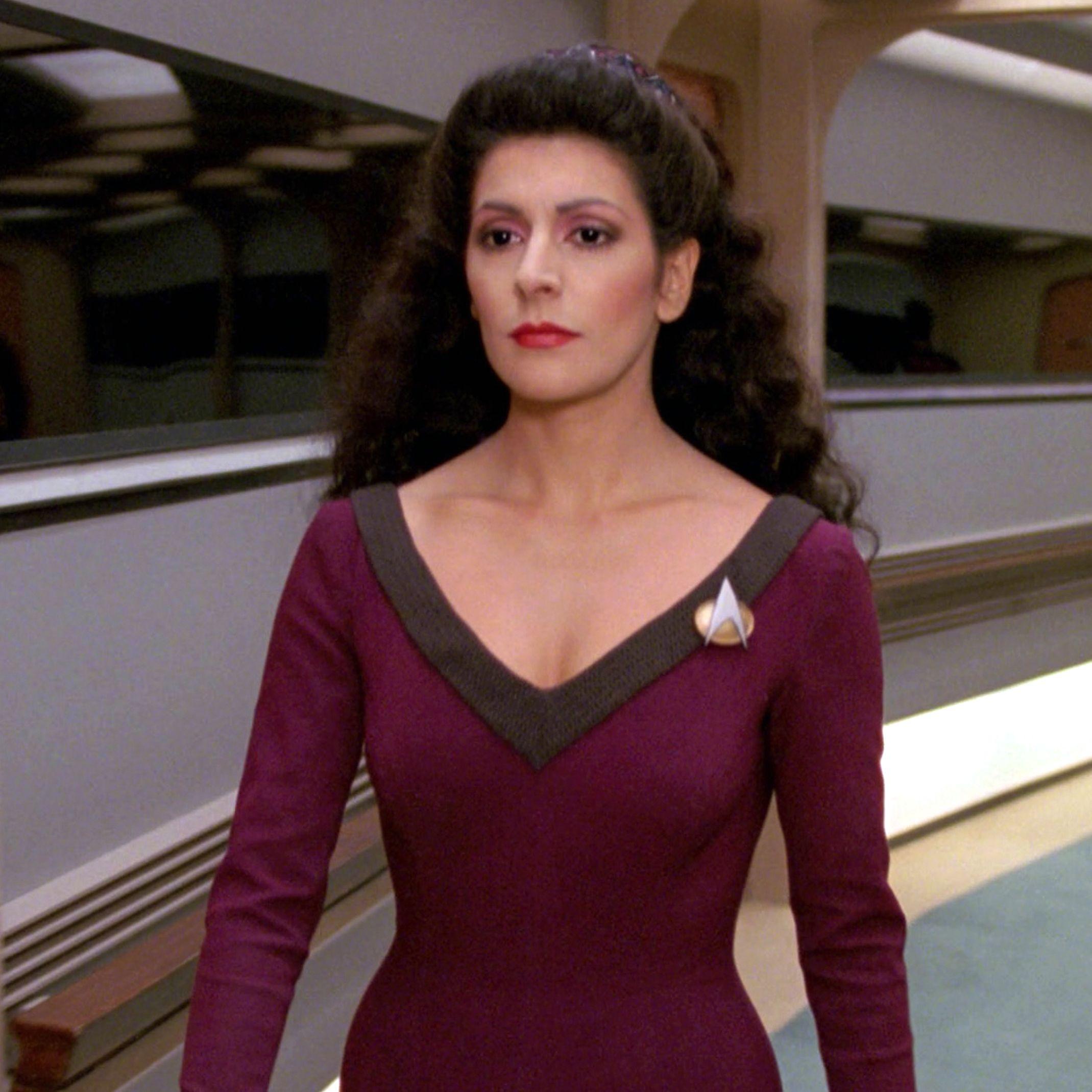 "The Next Generation star Marina Sirtis recalls having to ""win over"" the Star Trek audience"