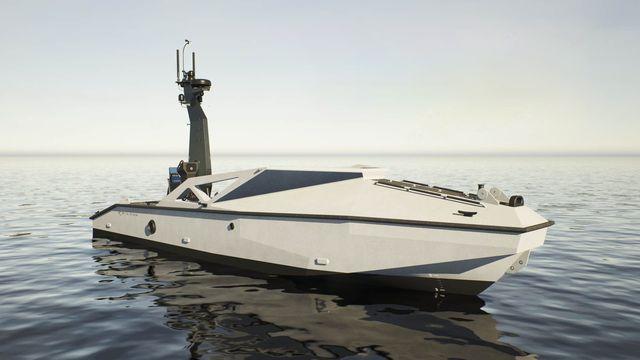metal shark's autonomous naval defense system