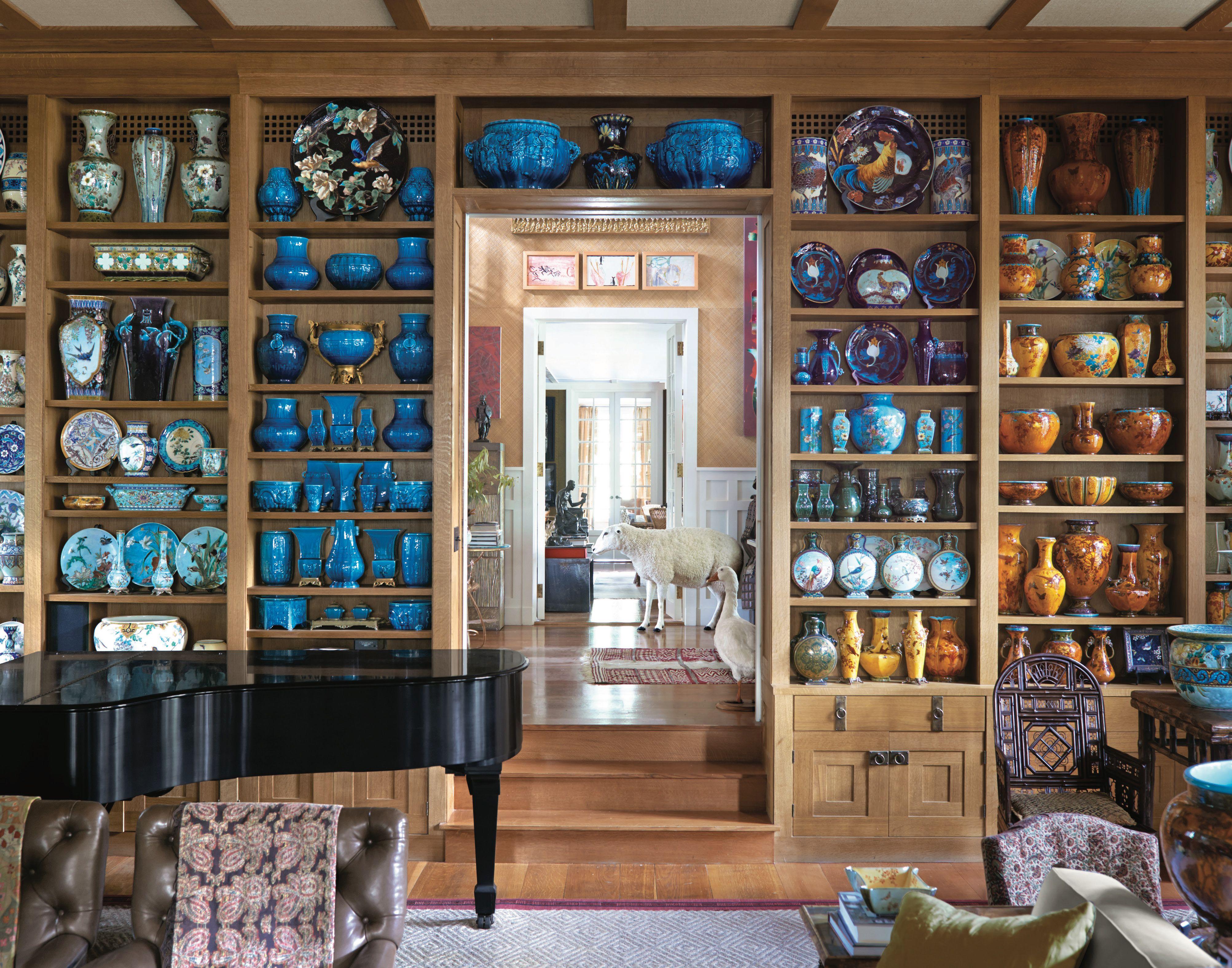La casa preferita da Peter Marino per i fine settimana è un mondo di porcellana