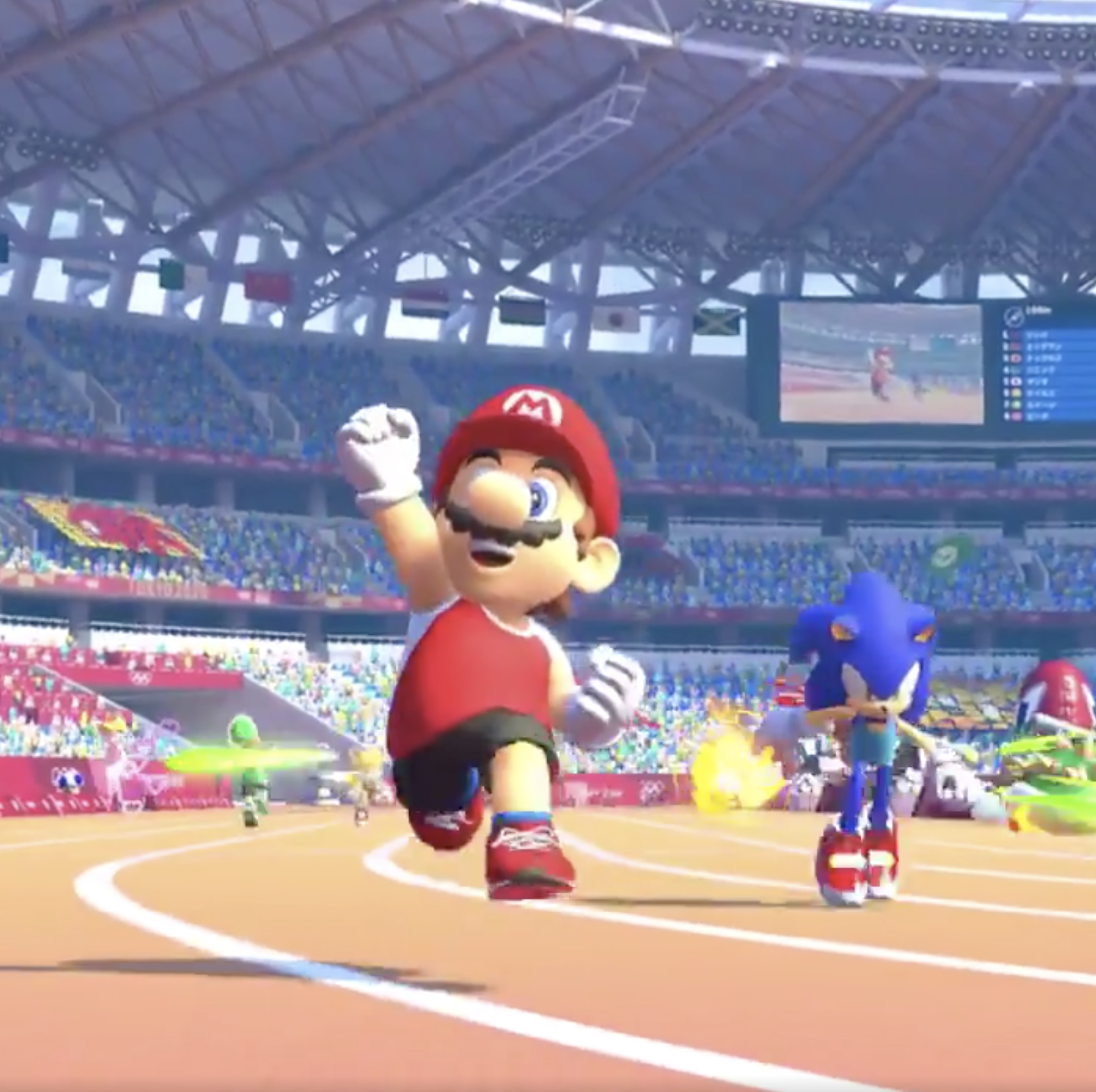 Mario and Sonic are going head-to-head again in new game for the Tokyo 2020 Olympics