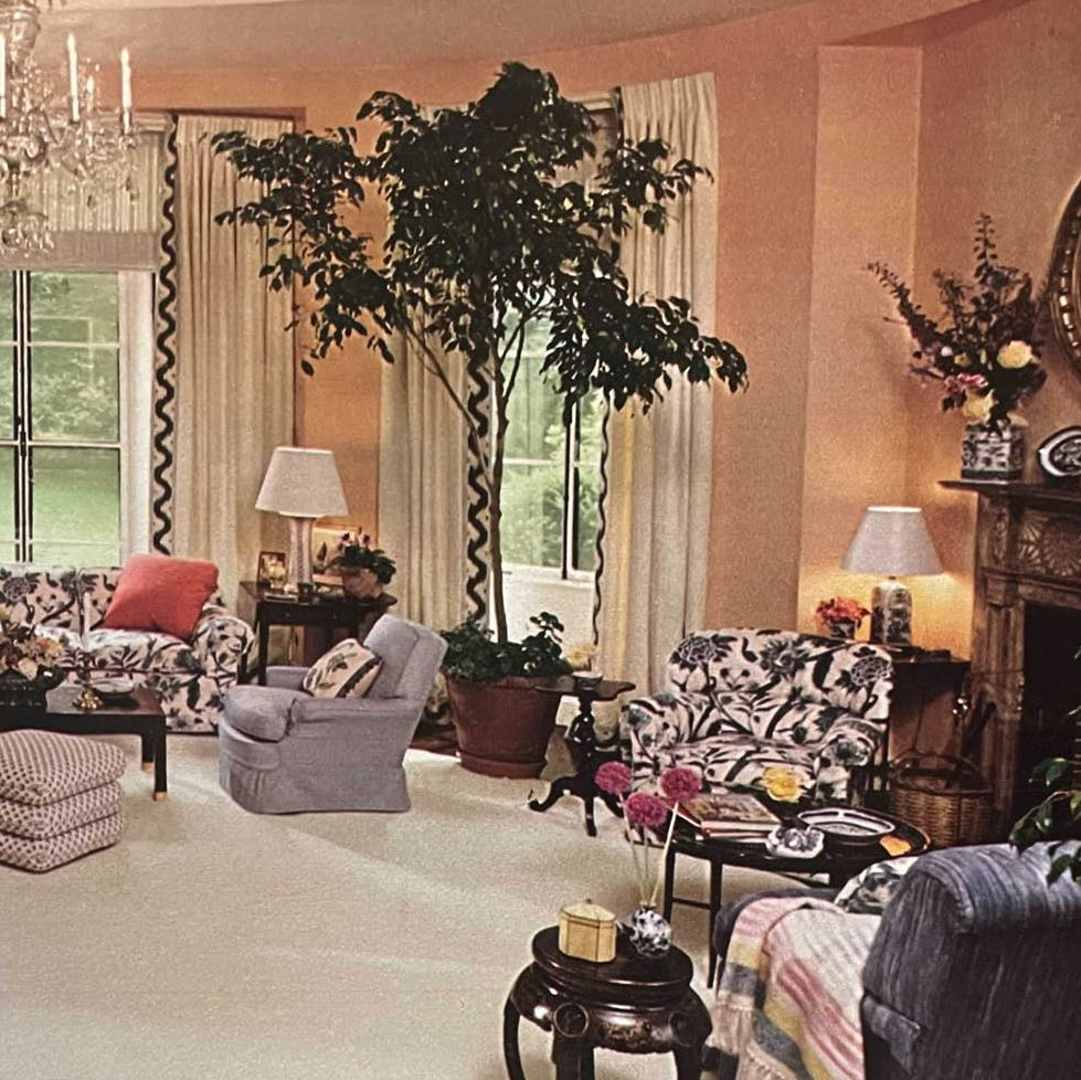 From the Archive: Inside a Timeless Mario-Buatta Designed Space, Circa 1978