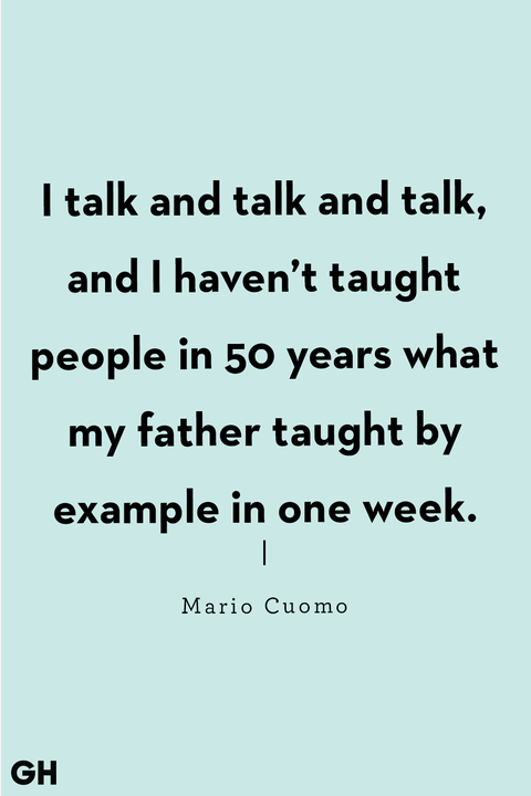 father's day quotes mario cuomo