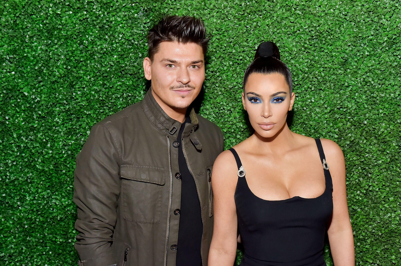 Kim Kardashian's makeup artist Mario Dedivanovic just came out on stage at an awards show