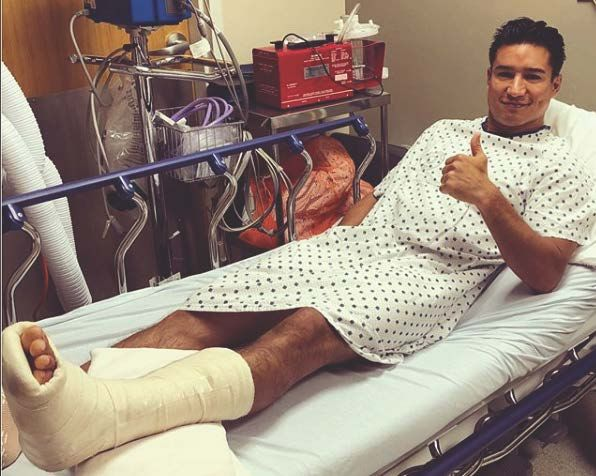 Mario Lopez Has Surgery On Achilles Tendon After July 4 Injury