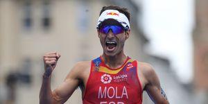 Mario Mola empieza las Series Mundiales ganando en Abu Dhabi
