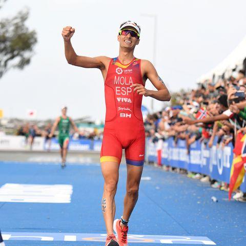 Mario, mola, campeón, protour, triatlón