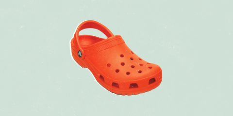 Footwear, Orange, Red, Shoe, Product, Clog,