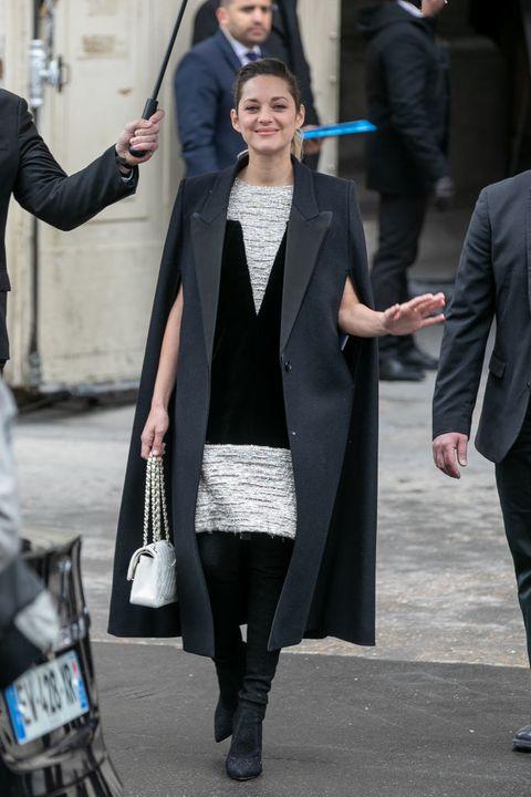f9326bacac7 image. Getty Images. Marion Cotillard at Paris Fashion Week