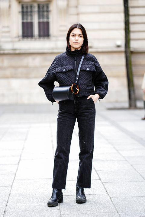 White, Street fashion, Photograph, Black, Clothing, Jeans, Fashion, Standing, Snapshot, Beauty,