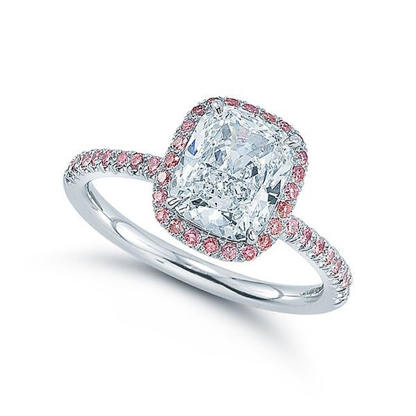 80f3605102a 35 Best Cushion Cut Diamond Engagement Rings for Your 2018 Proposal