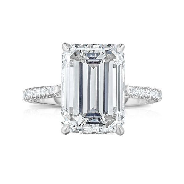 29 Emerald Cut Engagement Rings To Propose With Emerald Cut