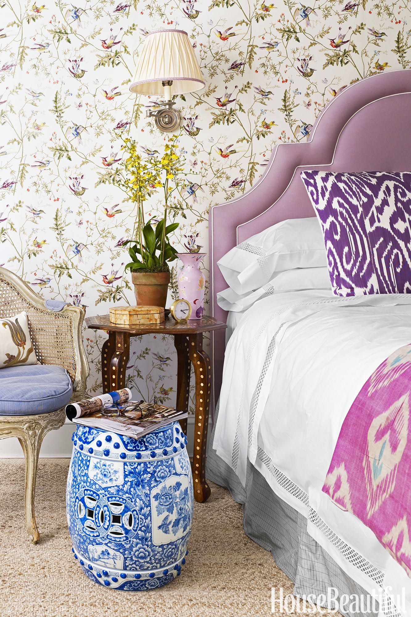 10 Purple Bedrooms That Don't Look Like Barney Exploded In Them