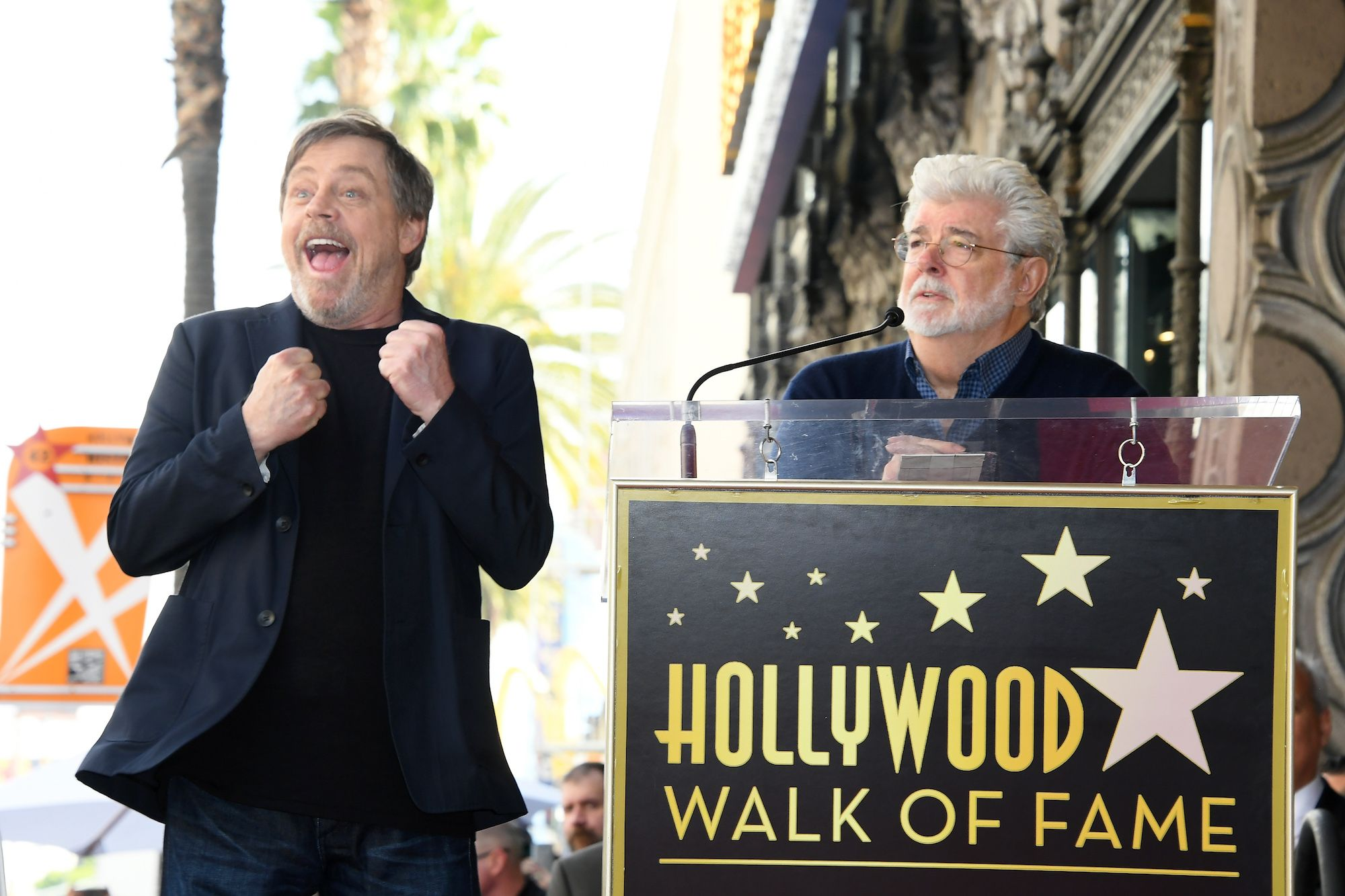 Star Wars Mark Hamill Trolea a George Lucas - Meme Leia