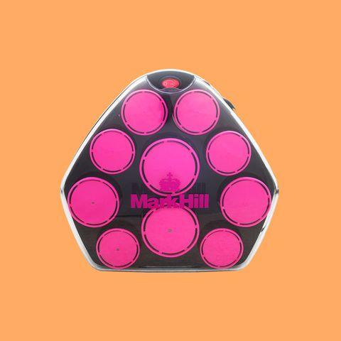 Pink, Orange, Pattern, Design, Magenta, Illustration, Font, Circle, Triangle,