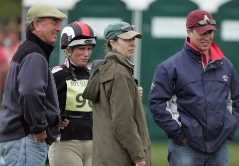 5581febc24087 Badminton Horse Trials  Day 3. Matt CardyGetty Images. Princesses Beatrice  and Eugenie are ...