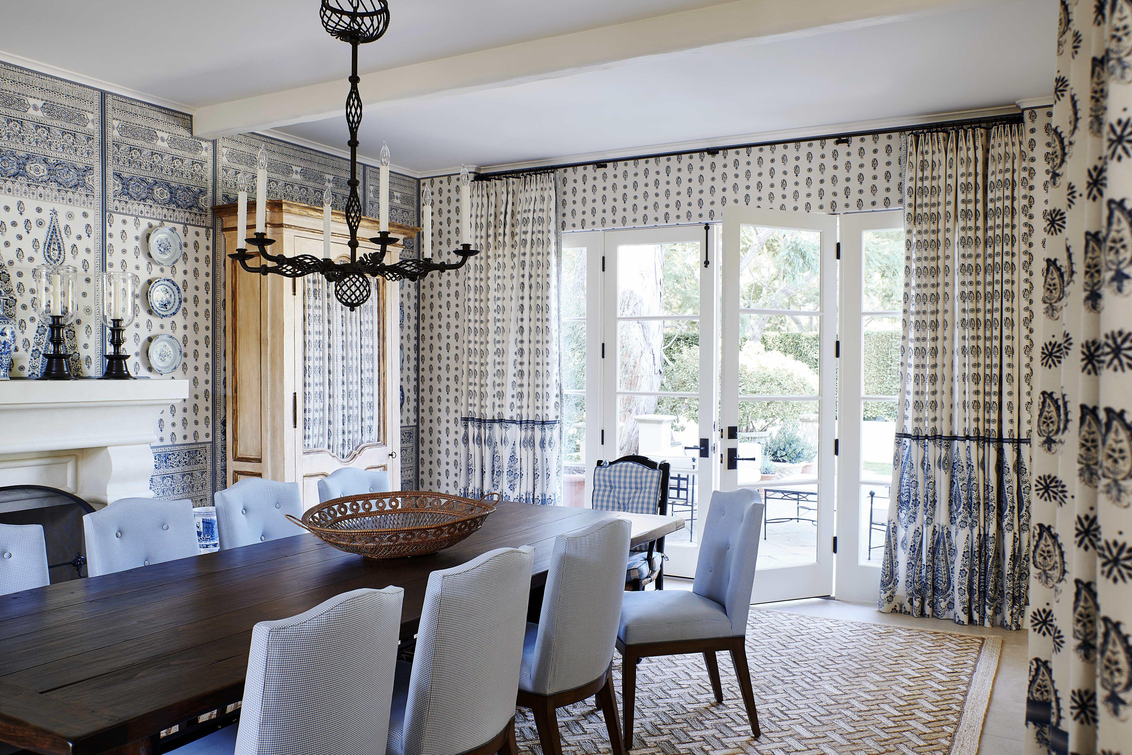 Designer Dining Rooms Decor, Silver Dining Room Ideas