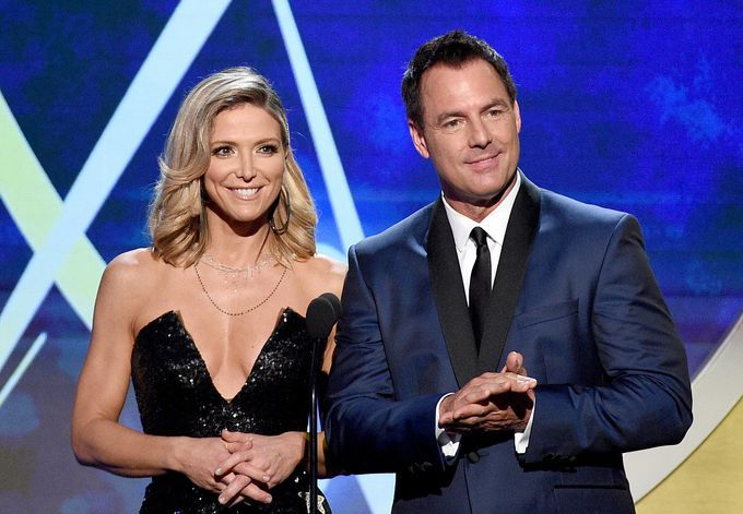 Hallmark S Home And Family Host Debbie Matenopoulos Addresses Mark Steines S Abrupt Exit