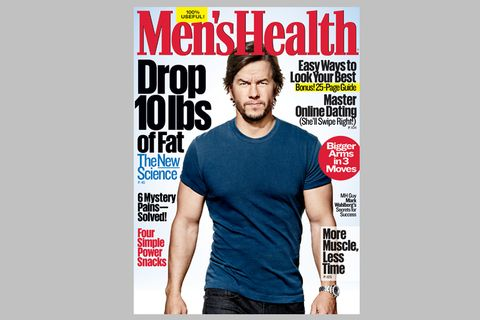 mark wahlberg men's health cover
