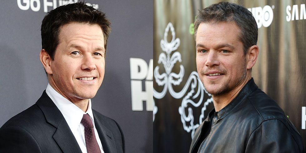 "Mark Wahlberg and Matt Damon Back in 2013, Wahlberg shared a post on Facebook about a fan who thought he was Damon. The fan screamed, ""MATT DAMON!"" at him and he graciously took pictures with her and didn't correct the mistake."
