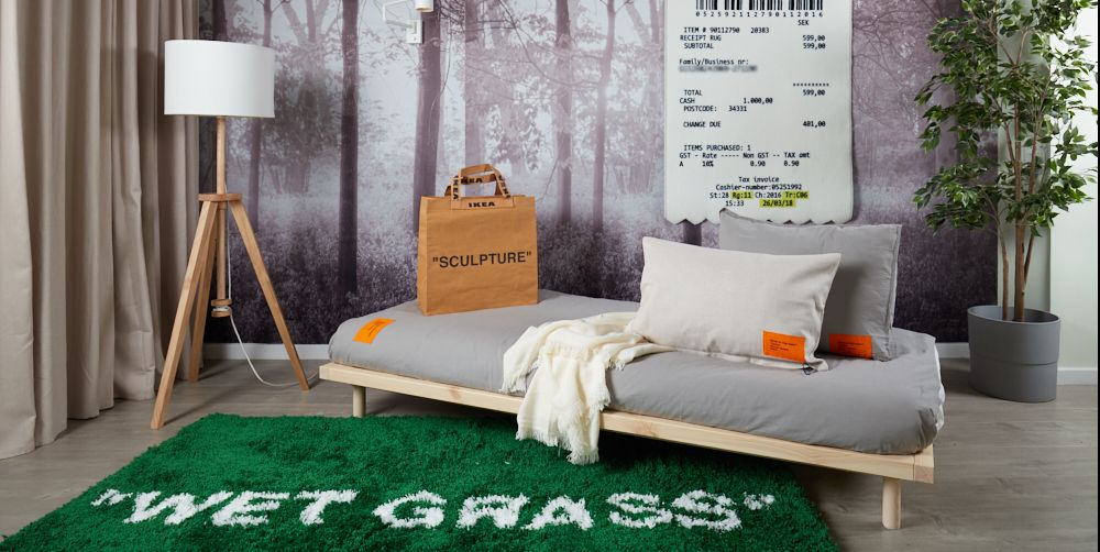 Virgil Abloh S Ikea Collection Markerad Goes On Sale In