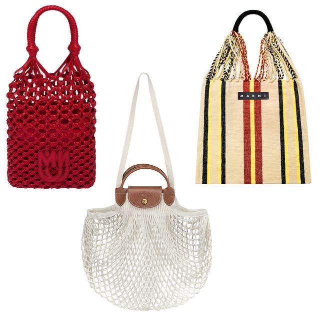 マーケットバッグが一大トレンド!  1万円台からゲットできる、憧れブランドのネット&バスケットバッグ【2021春夏】