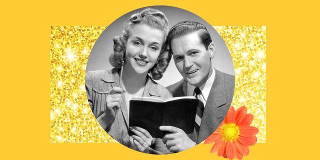 pareja con cuaderno
