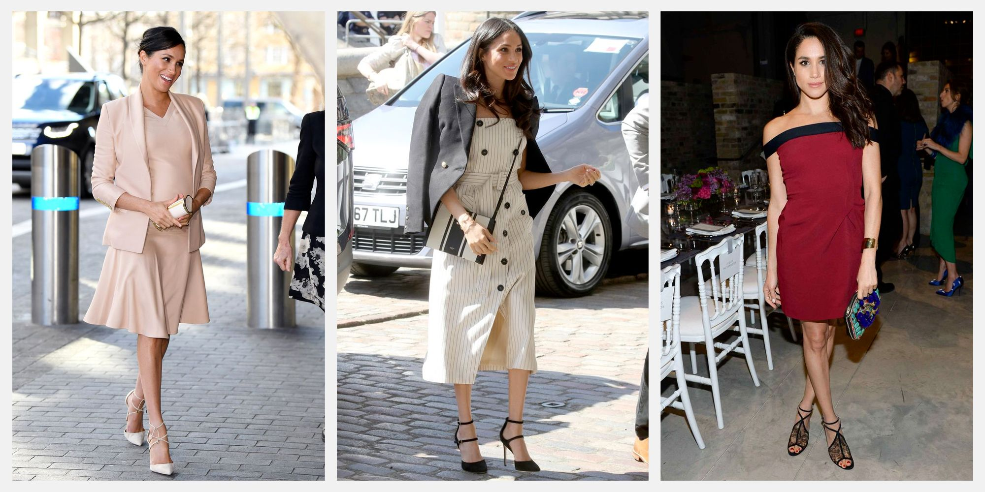 5f610de25f722 Meghan Markle Style - Photos of Meghan Markle's Best Fashion Moments