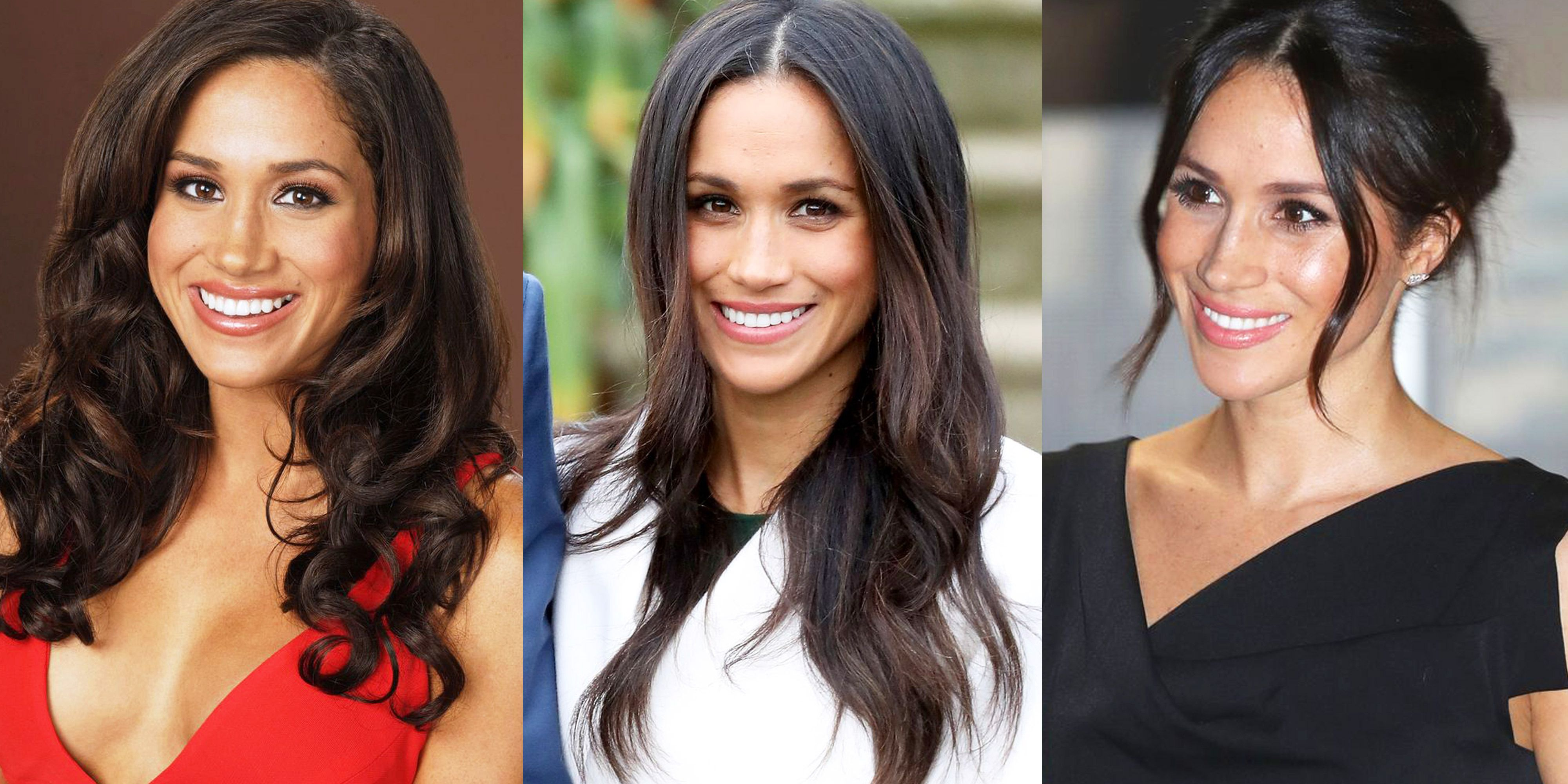 how meghan markle s hair has changed over the years how meghan markle s hair has changed