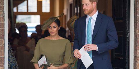 5f3bd303a Meghan Markle Wears Ralph Lauren To Prince Louis' Christening