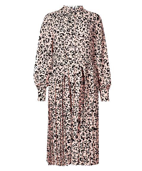f3129693d91fe0 Primark snake skin midi dress - Primark's long-sleeved dress in the ...
