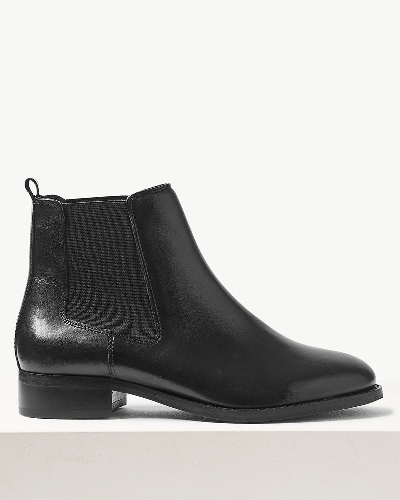 Marks & Spencer leather chelsea boots