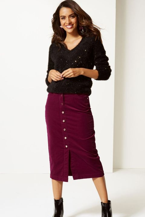 Marks & Spencer midi skirt