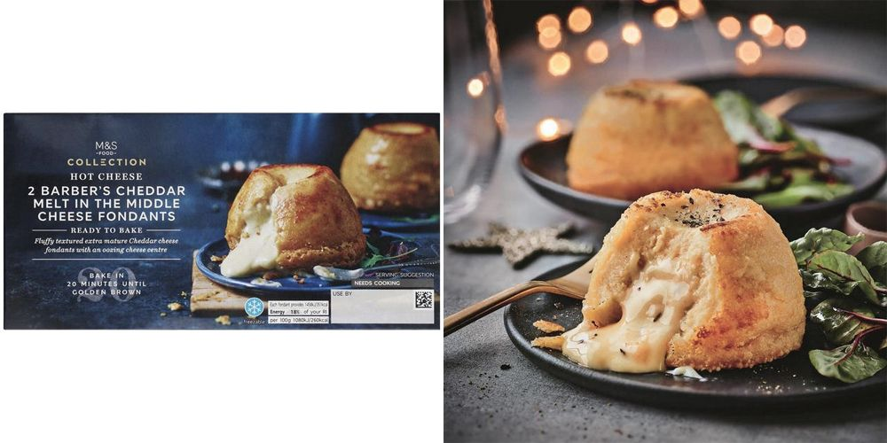Marks & Spencer's Melt-In-The-Middle Cheese Fondants are absolutely mouthwatering