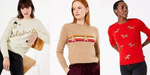 Marks and Spencer Christmas jumpers