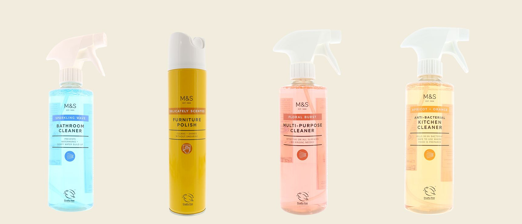 Marks & Spencer launches cruelty-free cleaning range perfect for spring cleaning