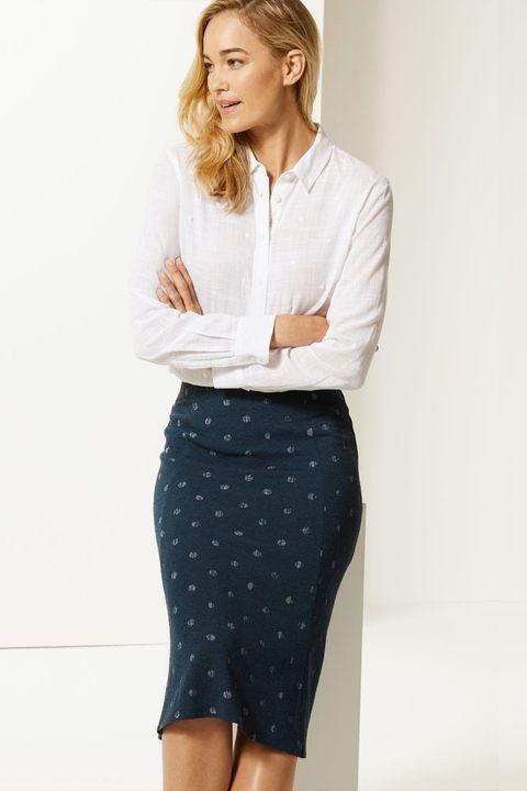 Marks & Spencer embellished skirt
