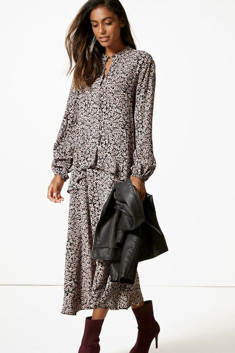 long-sleeved maxi dresses