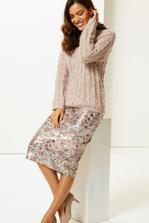 Marks & Spencer midi skirts