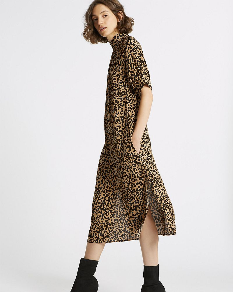Marks & Spencer leopard print dress