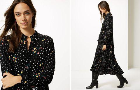 Marks & Spencer floral maxi dress