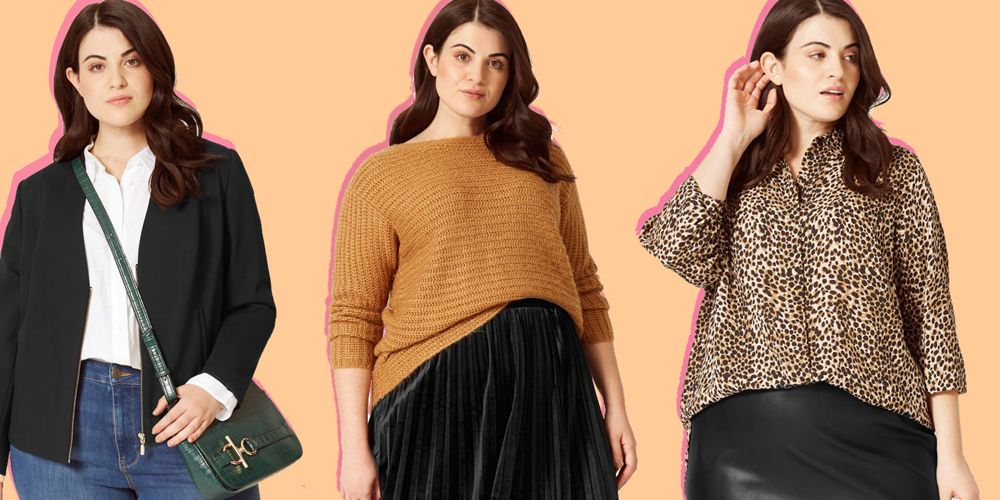 marks and spencer plus size fashion