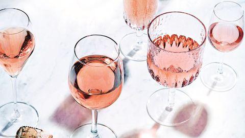 M&S rose wine
