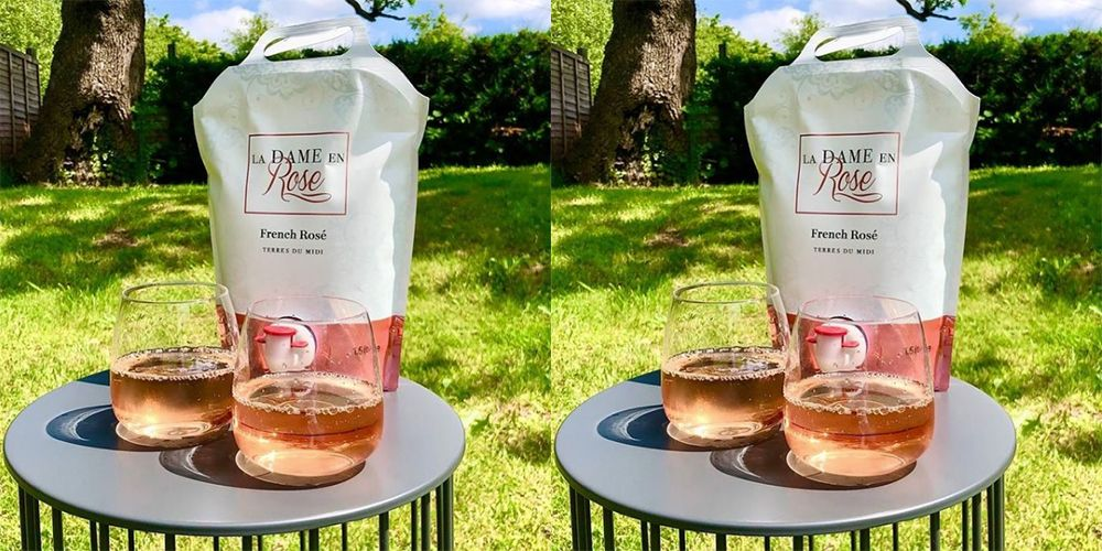 M&S's new rosé wine bag is basically just a giant Capri Sun for adults