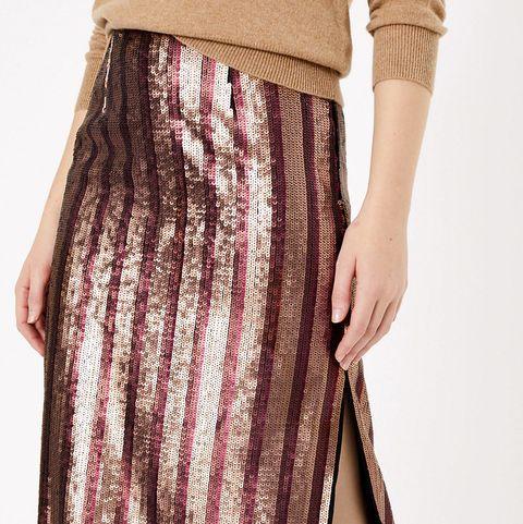 Marks & Spencer sequin skirt