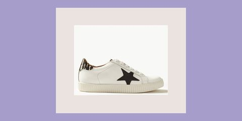 0b4c63b617cf Marks   Spencer white trainers - M S  sell-out statement trainers are back  in stock