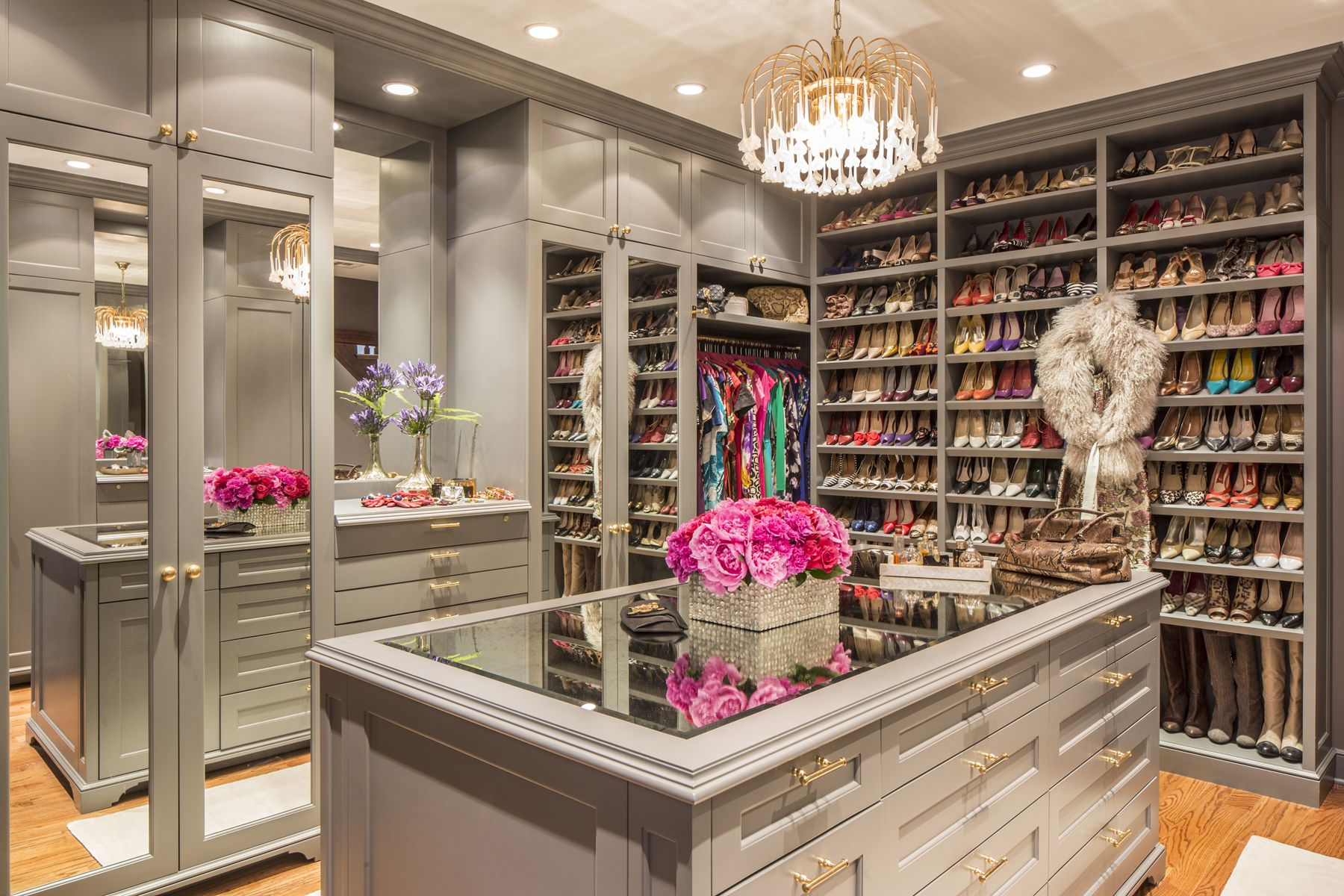 20 great walk in closet ideas stunning large custom closet designs rh elledecor com  most luxurious walk in closet