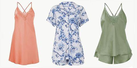 marks and spencer pyjamas